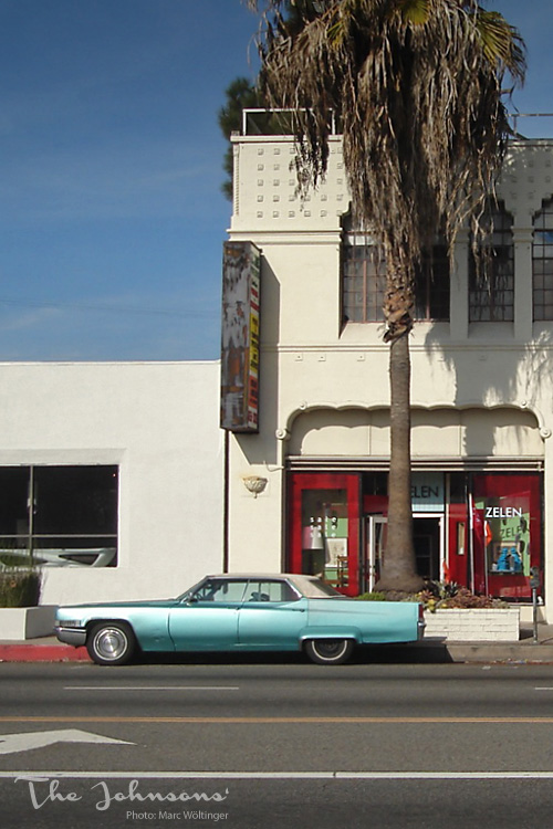Los Angeles The Johnsons Mid Century Time Travel Guide